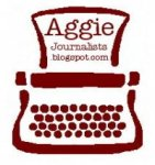 Aggie Journalists blog typewriter logo