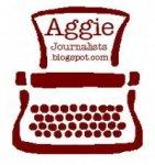 Aggie Journalists blog typewriter logo